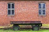Rusty Old Trailer — Stock Photo