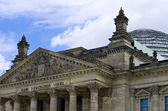 Berlin, Germany, Reichstag And Bundestag Building — Stock Photo