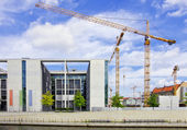 Berlin, Germany - Government District, Marie-Elisabeth-Luders-Haus Building — Stock Photo