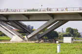 Opening Of The Waldschlosschen Bridge, Dresden, Germany — Stock Photo