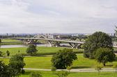 открытие моста waldschlosschen, дрезден, германия — Стоковое фото