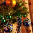 décorations pour arbres de Noël — Photo