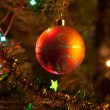 Стоковое фото: Christmas-tree decorations