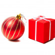 Christmas toys and gifts. — Stock Photo