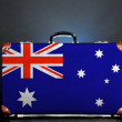 The Australian flag - Stock Photo