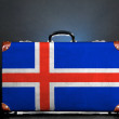 The Icelandic flag — Stock Photo #13320715
