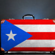 Stock Photo: Puerto Rico flag