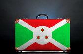 Burundi bayrağı — Stok fotoğraf