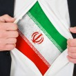 Stock Photo: Iraniflag