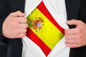 The Spanish flag — Photo