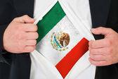 La bandiera messicana — Foto Stock