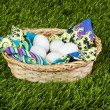 Eggs in basket — Stock Photo #22685707