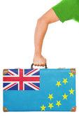 La bandera de tuvalu — Foto de Stock