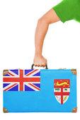 флаг фиджи — Стоковое фото