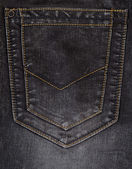 Pocket mörk blå jeans. — Stockfoto