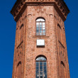 The brick tower in Staraya Russa - Stock Photo