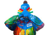 Presentation of the official uniforms Sochi 2014 — Stock Photo