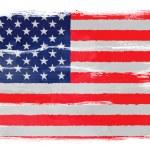 The USA flag — Stock Photo #40819177