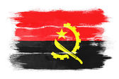 アンゴラの旗 — ストック写真