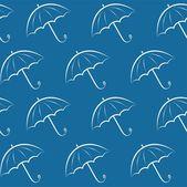 Sfondo con ombrelloni — Vettoriale Stock