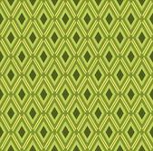 Yellow green rhombus pattern — Stock Vector