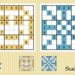 Sudoku — Stock Vector