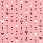 Wzór z serca — Wektor stockowy