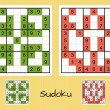 Unique sudoku set — Stock Vector #45909743
