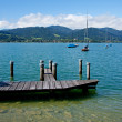 Stock Photo: View of lake Tegernsee