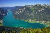 Beautiful alpine lake, austria — Stock Photo