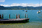 View of the lake Tegernsee — Stock Photo
