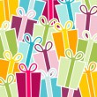 Gift Background - Stock Vector