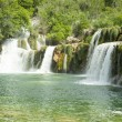Waterfall KRKA in Croatia — Stock Photo