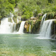 Stock Photo: Waterfall KRKin Croatia