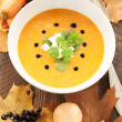 Pumpkin soup — Stock Photo #34730877