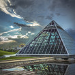 Glass Pyramids - Stock Photo