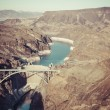 Hoover Dam and Bridge — Stock Photo
