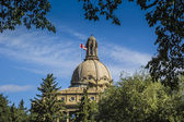 Alberta legislature gebouw — Stockfoto