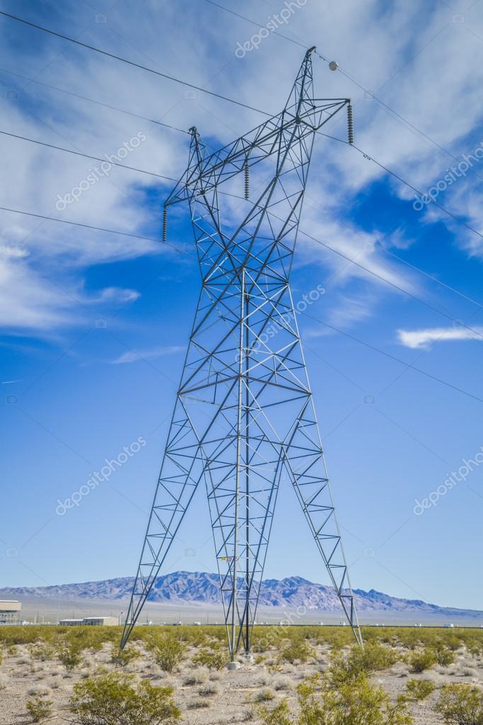 电力线路跨越高压塔