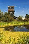 Prairie Grain Elevator — Stock Photo