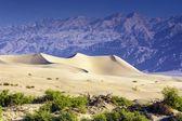 死亡谷的沙丘 — 图库照片