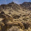Rugged Landscape of the Alabama Hills — Stock Photo