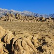 Landscape of Alabama Hills — Stock Photo