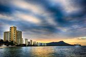 Honolulu Sunrise — Stock Photo