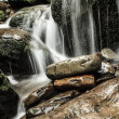 Water flow over Rocks — Stock Photo
