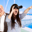 Looking At View — Stock Photo