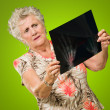 Senior WomHolding X-ray — Stock Photo #12666939