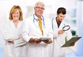 Skupina lékařů — Stock fotografie