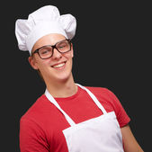 Portrait Of Smiling Chef — Stock Photo