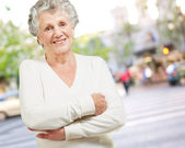 Portrait Of A Senior Woman — Stock Photo